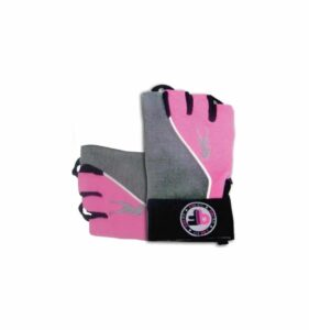pink fit glove graypink