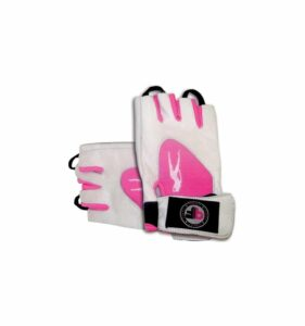 pink fit glove white pink