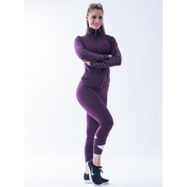 leggings-78-asymetrique-modele-n639-bordeau-nebbia